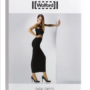 Wolford Plum Purple FATAL Dress Size S
